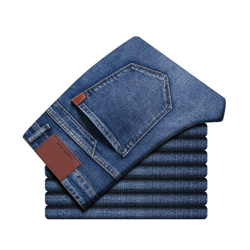 Pologize™ Elastic Straight Jeans