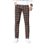 Pologize™ Regular Fit Checkered Pants