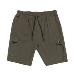 Pologize™ Logo Cotton Elastic Shorts