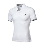 Pologize™ Logo V-Neck Polo Shirt