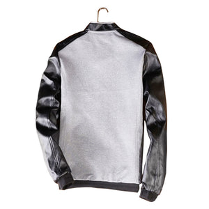 Pologize™ Leather Sleeve Jacket