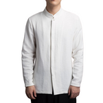 Pologize™ Elegant High Collar Button Shirt