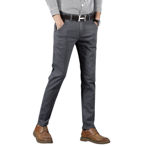 Pologize™ Casual Fit Elastic Pants