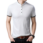 Pologize™ High Collar Polo Shirt
