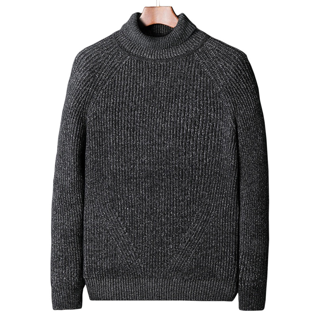 Pologize™ Ribbed Turtleneck Pullover