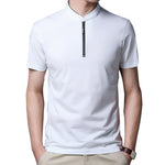 Solid Collar Polo Shirt