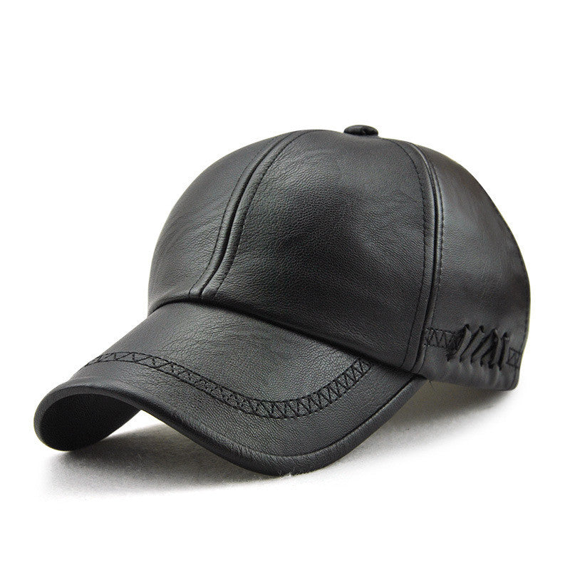 Pologize™ Winter Leather Cap