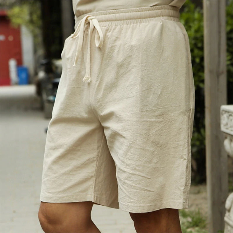 Light Summer Linen Blend Shorts
