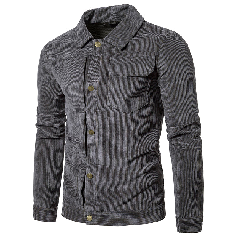 Pologize™ Casual Corduroy Button-Down Shirt