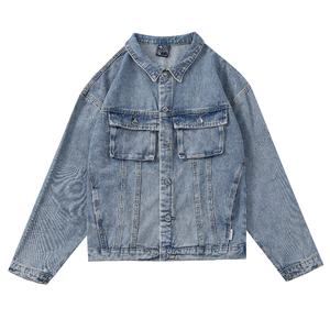 Pologize™ Washed Denim Jacket