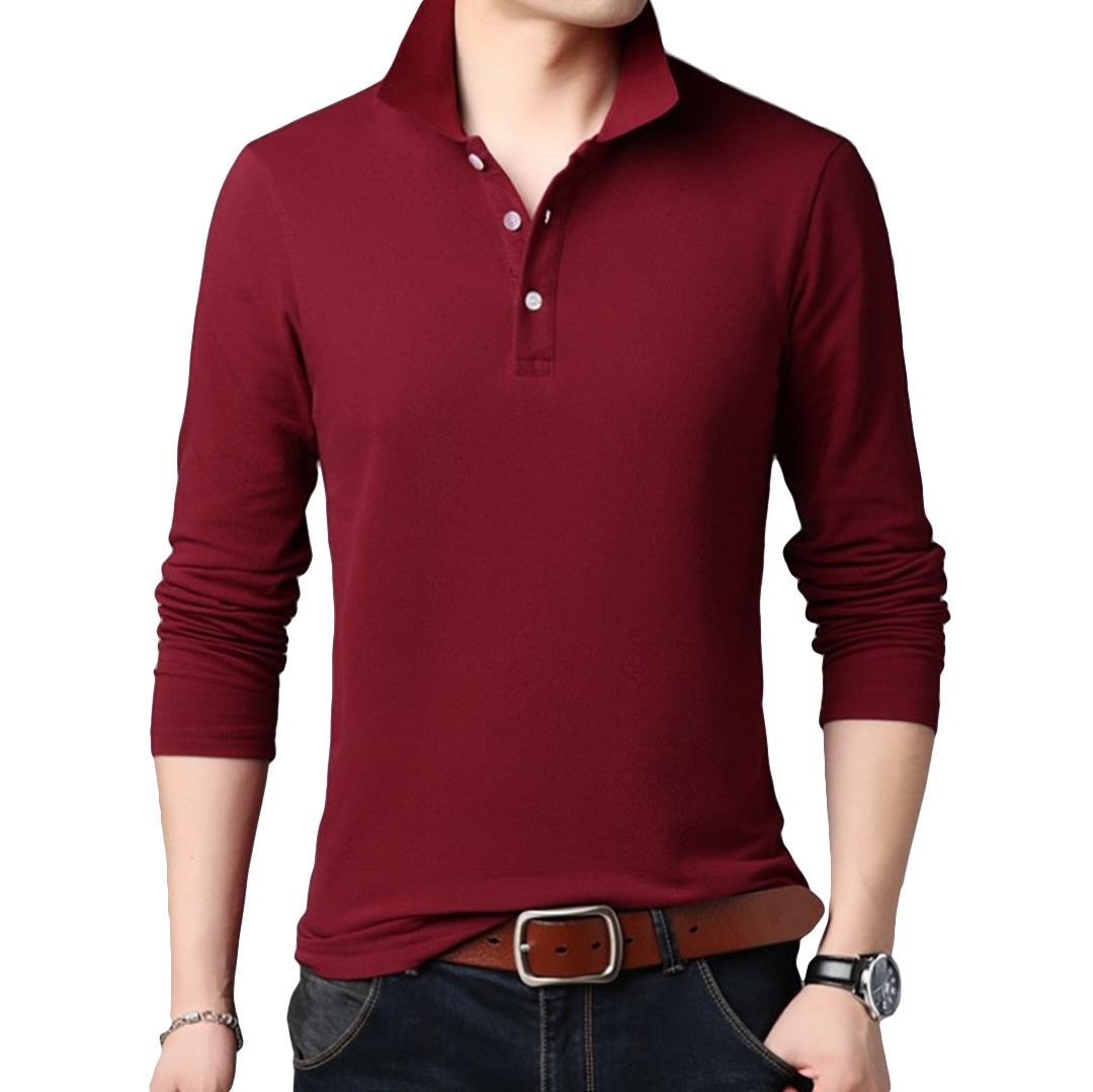 Pologize™ Premium Long Sleeve Polo Shirt