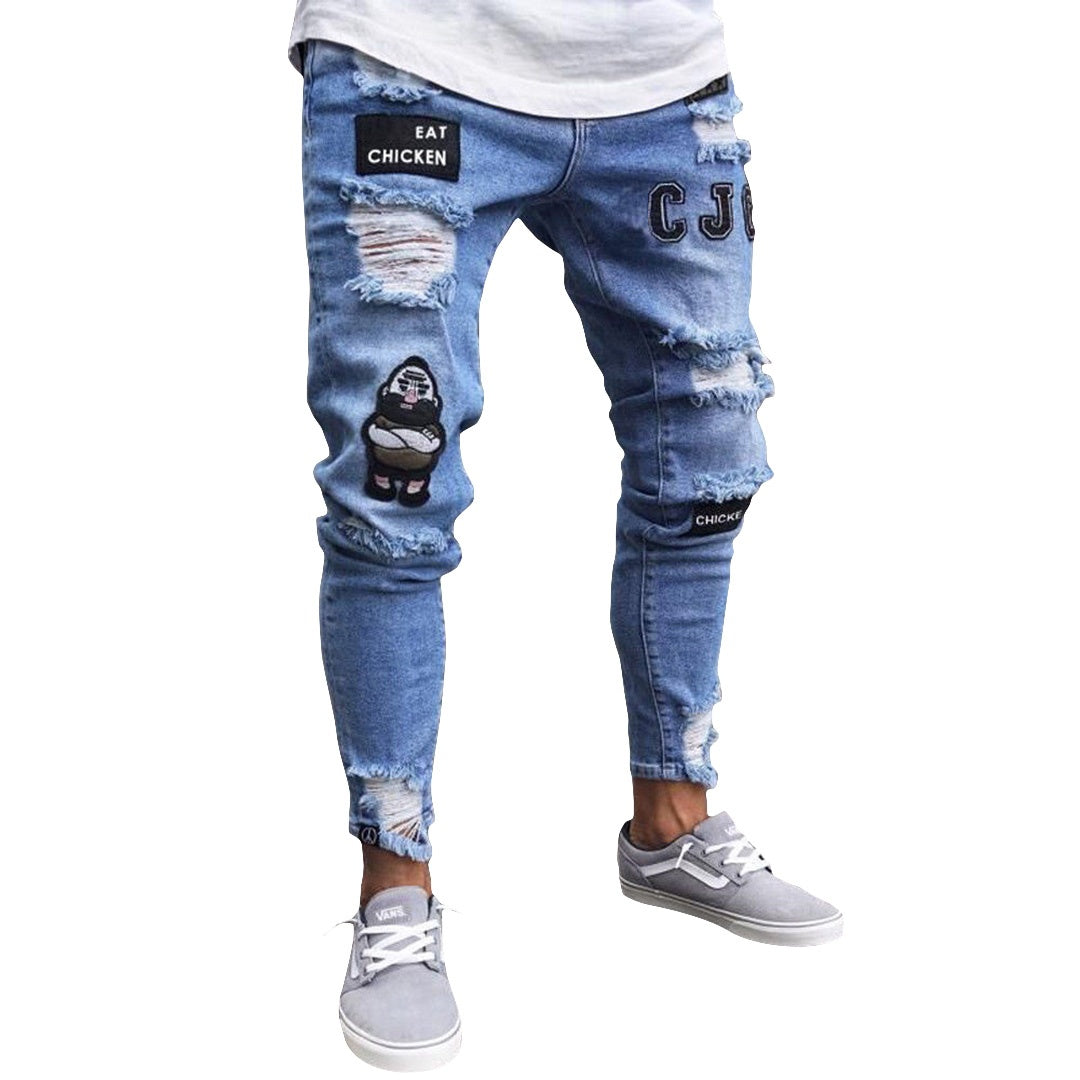 Pologize™ Fashionable Distressed Jeans