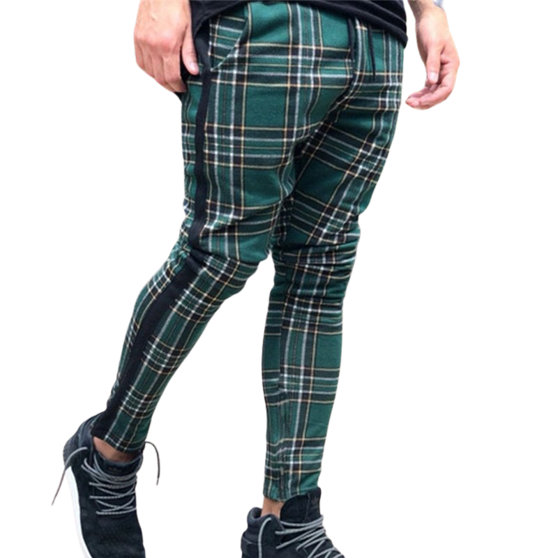 Pologize™ Casual Plaid Pants