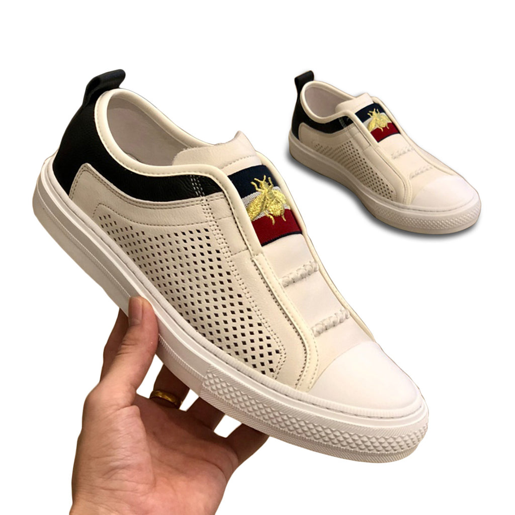 Pologize™ Bee Embroidered Shoes