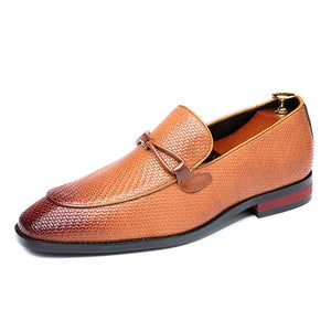 Pologize™ Leather Oxford Loafers