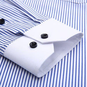 Pologize™ Pinstriped Dress Shirt