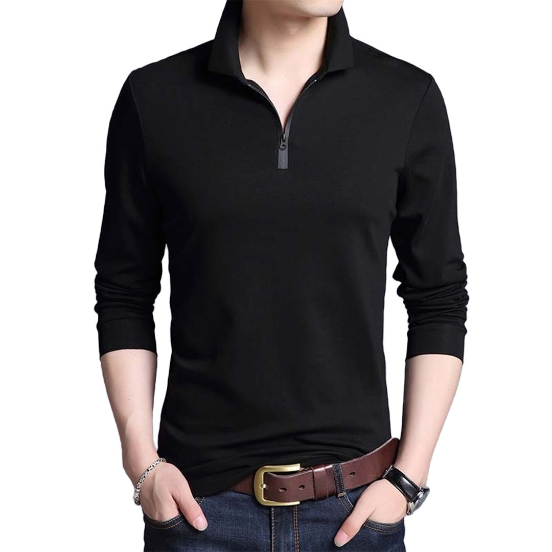 Pologize™ Solid Long Sleeve T-Shirt