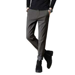 Pologize™ Plain Slim-Fit Pants