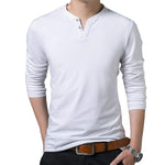 Pologize™ V-Neck Long Sleeve Shirt