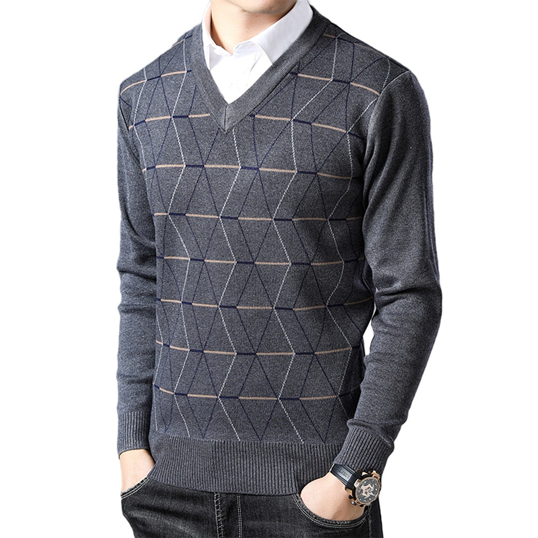 Pologize™ Basic V-Neck Sweater