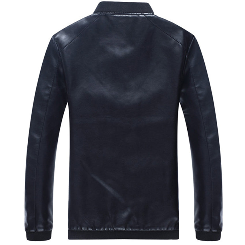 Pologize™ PU Leather Motorbiker Jacket