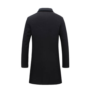 Pologize™ Long Winter Business Coat