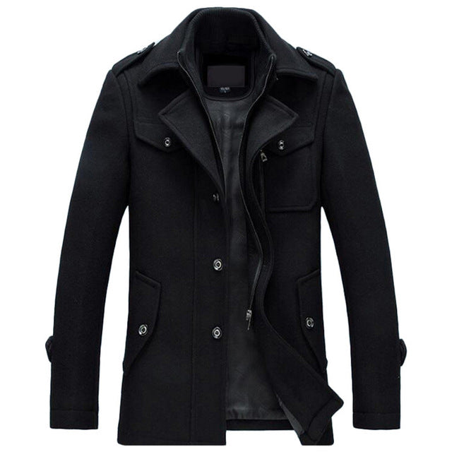 Pologize™ Slim Wool Coat