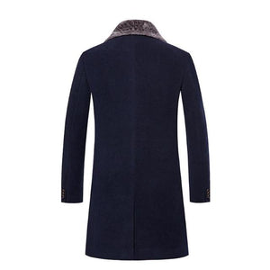 Pologize™ Single Breasted Wool Coat