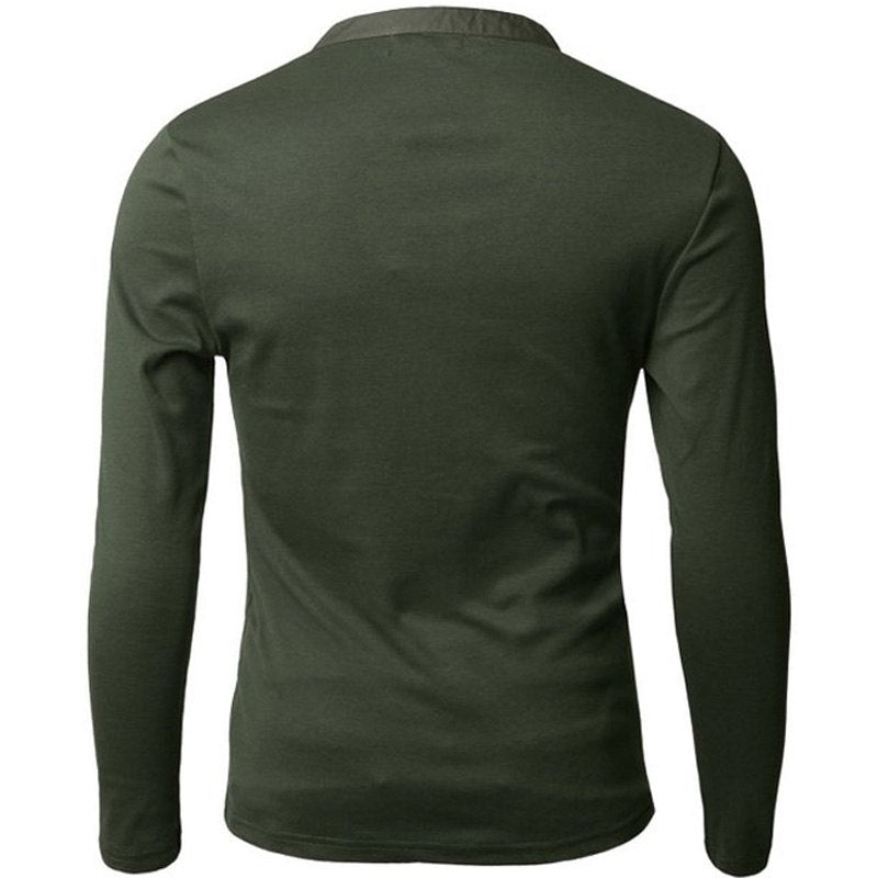 Pologize™ V-Neck Long Sleeve T-Shirt