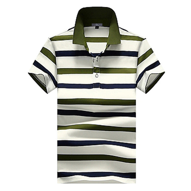 Pologize™ Striped Fashion Polo Shirt