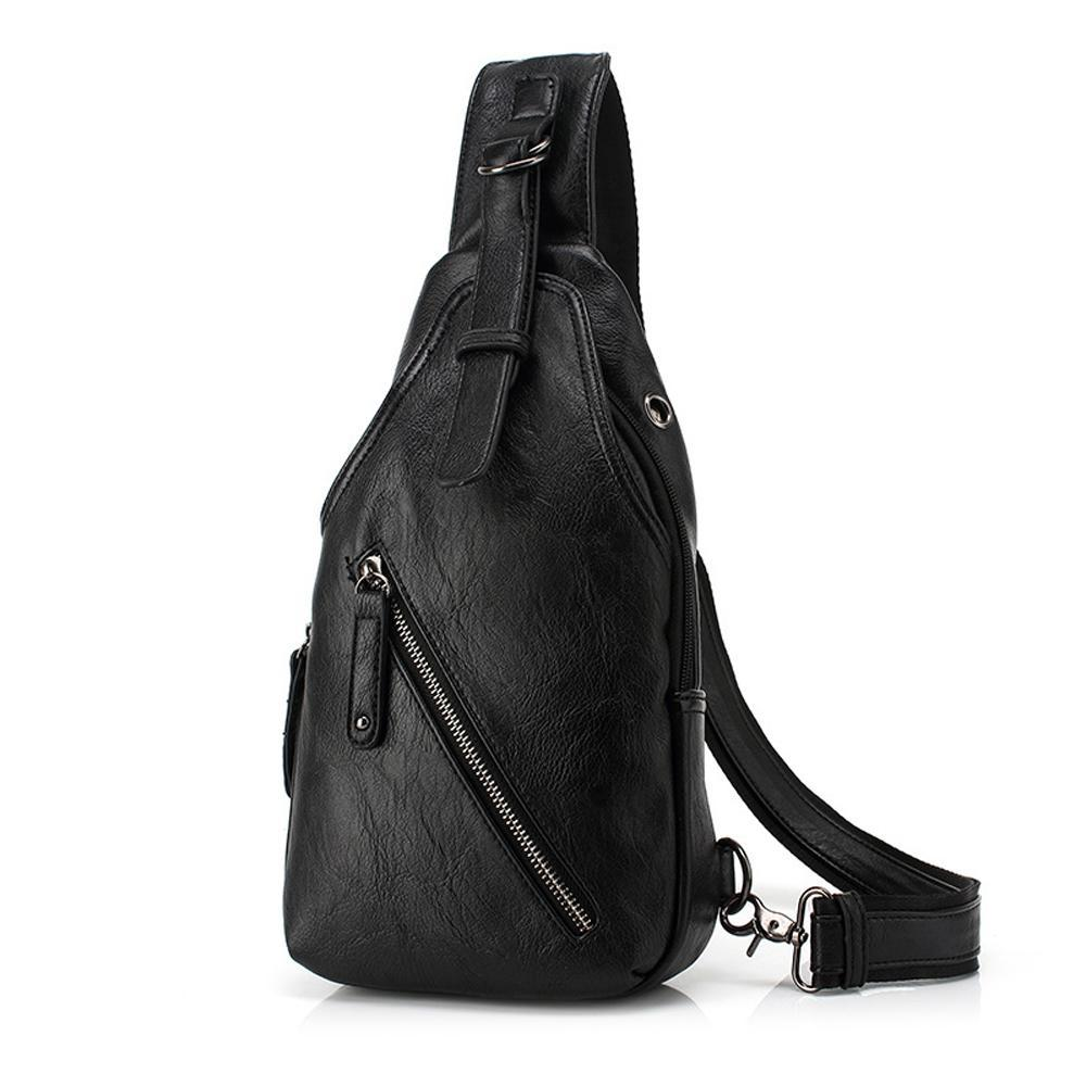 Pologize™ Leather Crossbody Bag