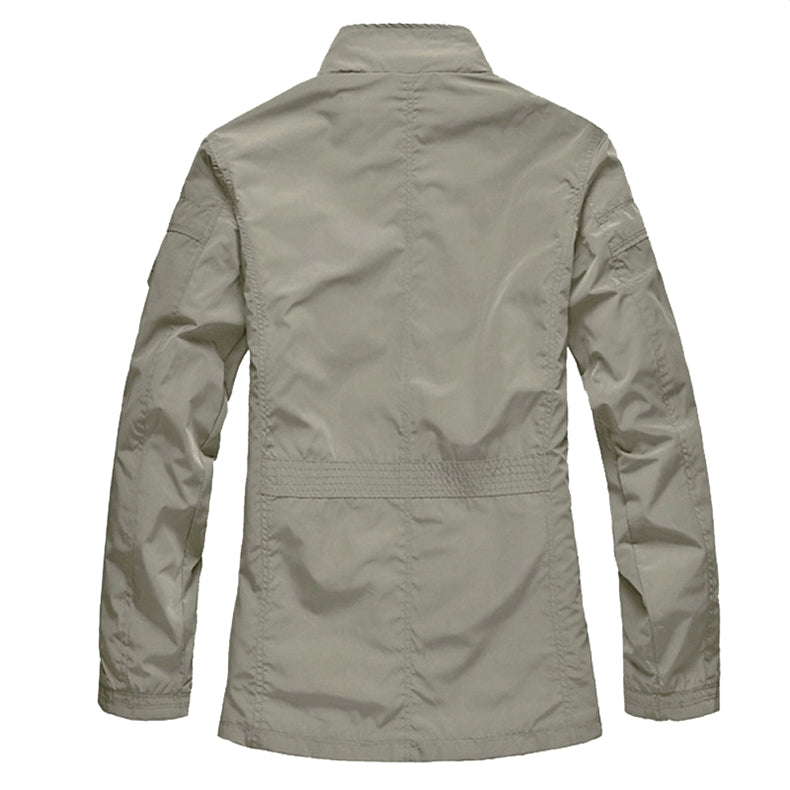 Pologize™ Autumn Windbreaker Coat