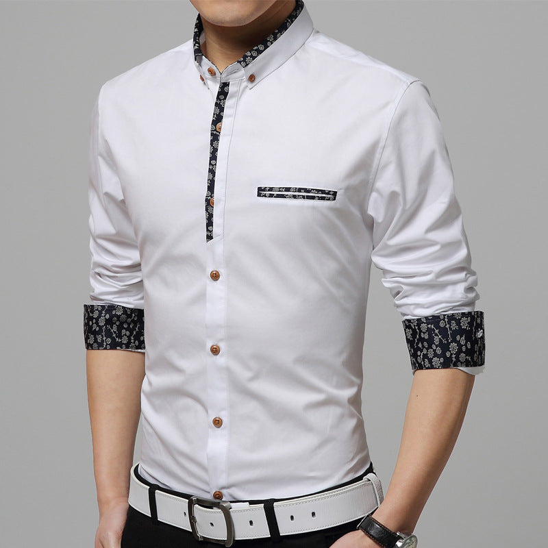 Pologize™Formal Printed Shirt