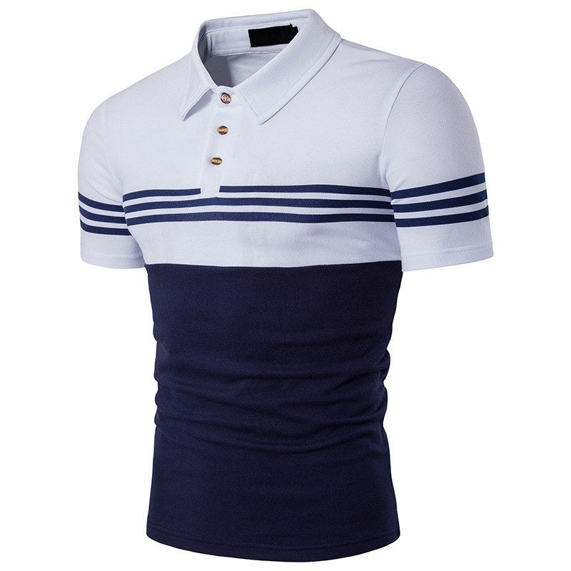 Pologize™ Unique Striped Polo Shirt