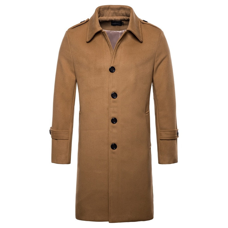 Pologize™ Long Fashion Coat
