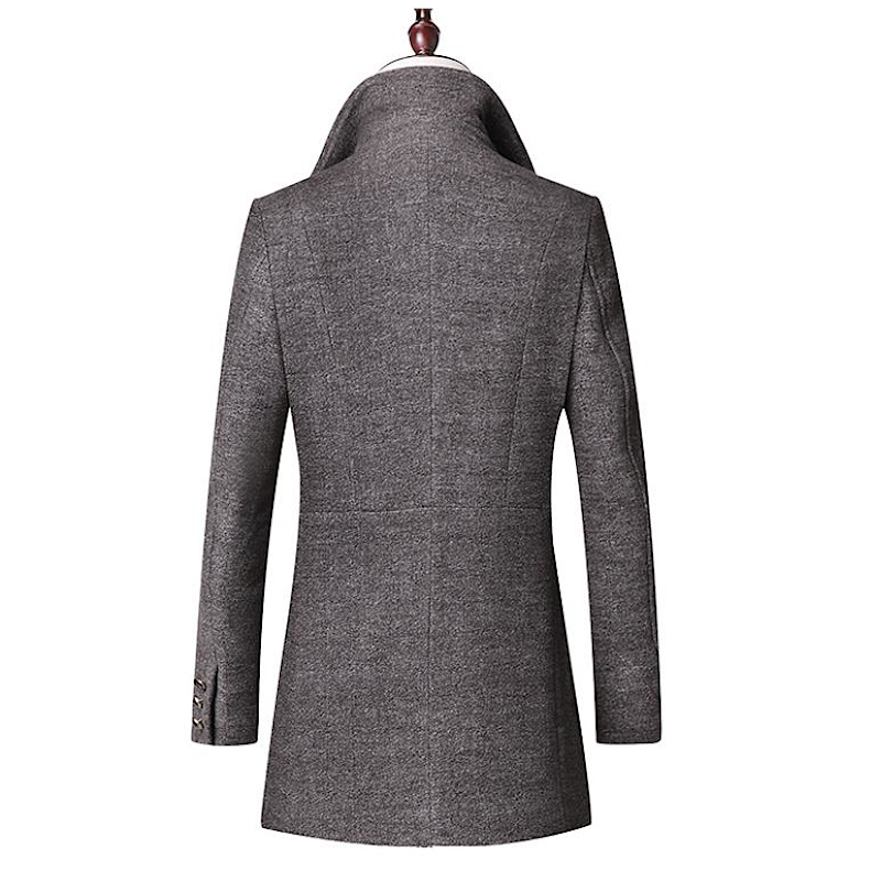 Pologize™ Medium Length Wool Coat