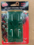 Accessories - Removable Adhesive Stocking Hooks - 4 Pack
