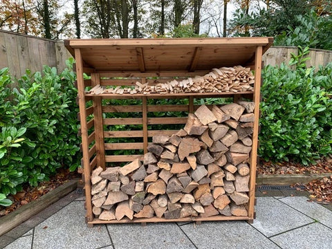 Log stores - Available in 3 Sizes