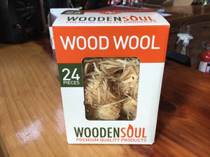 24 pack wood wool firefighter