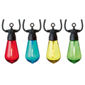 Lights - 10 Connectable String Lights - Elongated Bulb - Various Colours