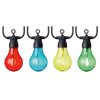 Lights - 10 LED Connectable String Lights - Bulb Shape - Multiple Colours