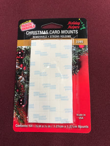 Accessories- Christmas Card Mounts - 64 Pack