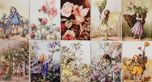 Assorted Fairy Prints (10pc - 12x16cm each) - Lori's Fabrics & Quilts