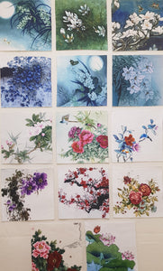 Assorted Floral Prints (14pc - 22cm² each) - Lori's Fabrics & Quilts