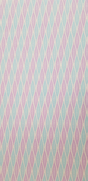 Purple & Blue Spirals Fabric (100x150cm) - Lori's Fabrics & Quilts