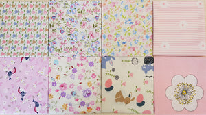 Assorted Pink Prints (8pc - 48x39cm each) - Lori's Fabrics & Quilts