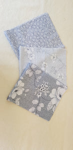Assorted Grey Prints (3pc - 40x50cm each) - Lori's Fabrics & Quilts