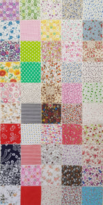 Assorted Prints (50pc - 10cm² each) - Lori's Fabrics & Quilts