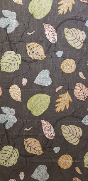 Adelle Charcoal - Weave (101x134cm) - Lori's Fabrics & Quilts