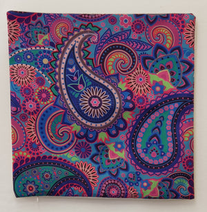 Purple Paisley Pillow Case (43cm²) - Lori's Fabrics & Quilts